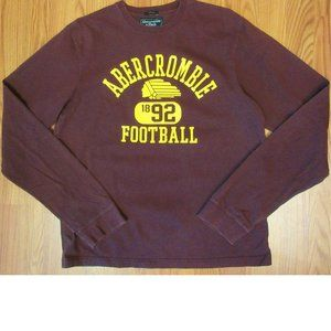 ABERCROMBIE & FITCH 100% COTTON L/S T-SHIRT